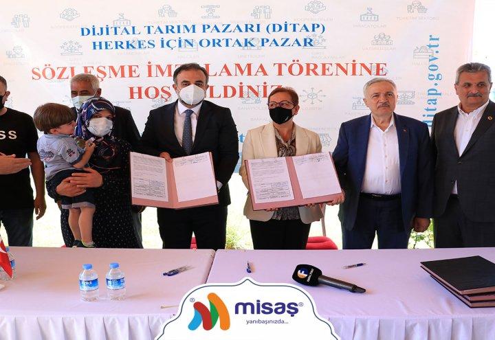 Misaş - Ditap Sözleşme İmzalama Töreni