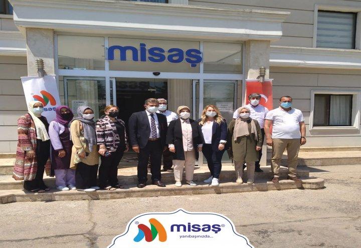 Misaş Kadın Girişimi Üretim ve İşletme Kooperatifi Ziyaret